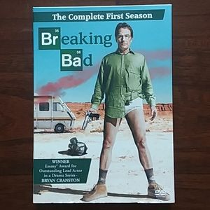 🔥 Breaking Bad complete first Season NW